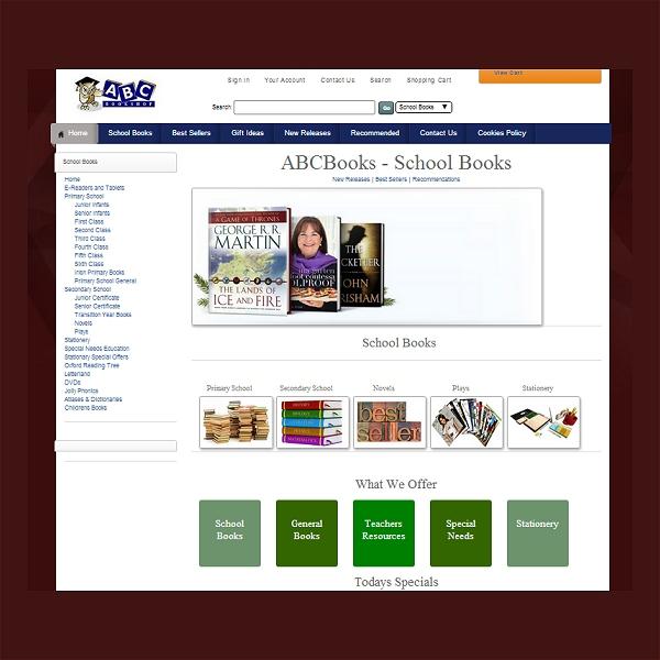 ABCBooks - Ireland Leading School Book Seller